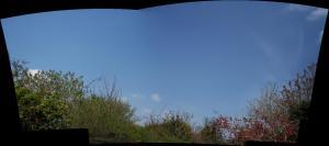 sky with no planes