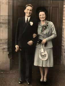 wedding photo 1948