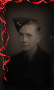 photo of RAF cadet