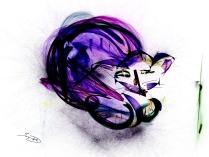 flame cat