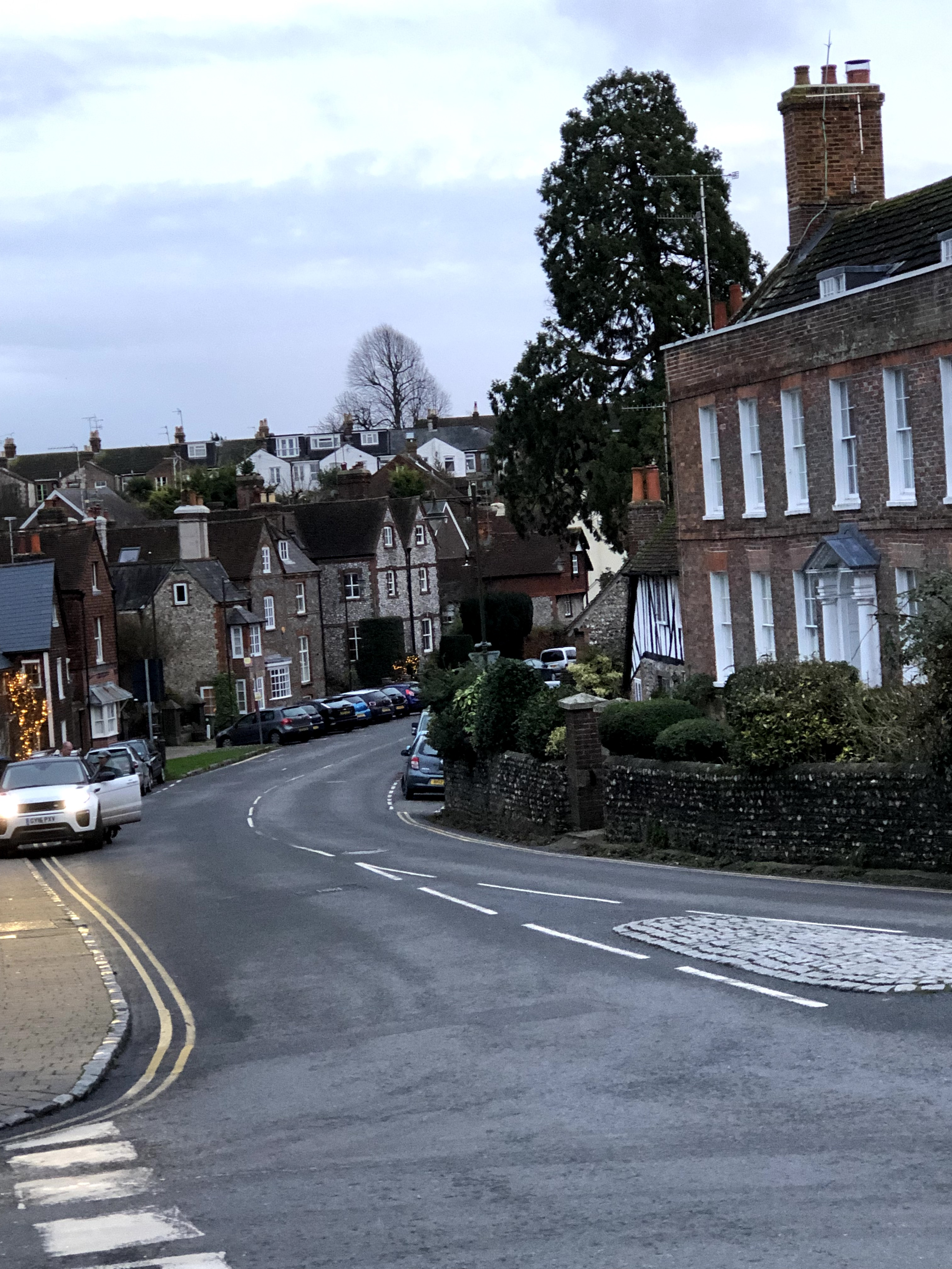 photo of buildings on a high street