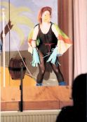 Pantomime parrot