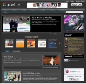 treet tv homepage
