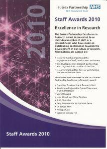staff awards poster